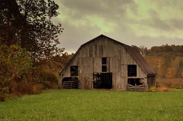 Ozarks Photograph - Ozark Barn 5 by Marty Koch