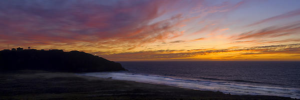 Point Sur Photograph - Pacific Sunset At Point Sur by Steven Wynn