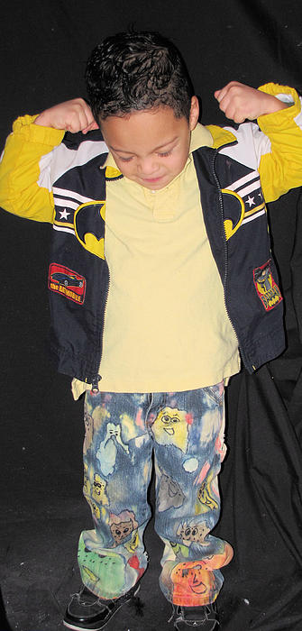 Clothes Photograph - Painted Boys Jeans by HollyWood Creation By linda zanini