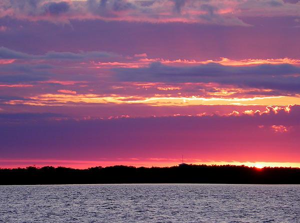 Nature Photograph - Painted Sky by Judy Wanamaker
