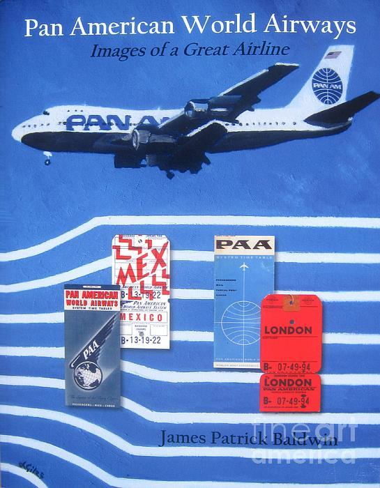 Pan Am Painting - Pan American World Airways by Lesley Giles