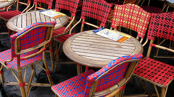 Paris Photograph - Paris Cafe by Tony Grider