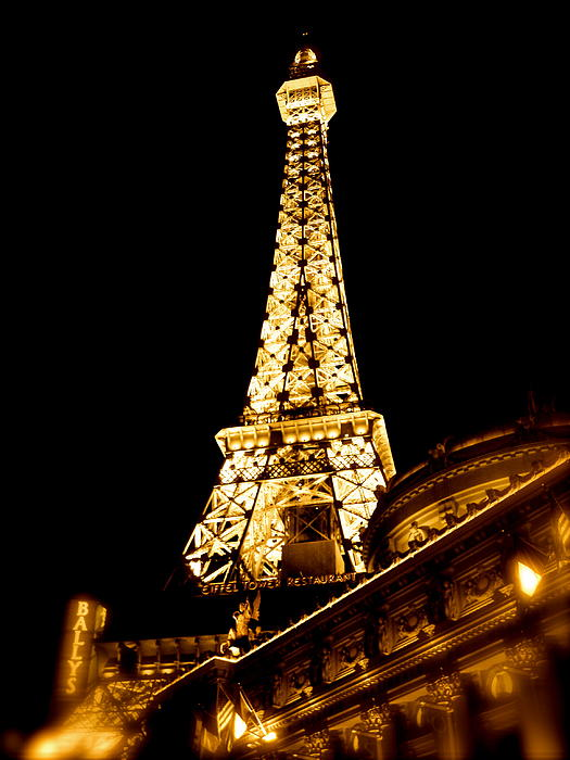 Paris In Vegas Photograph - Paris In Vegas by Amber Hennessey