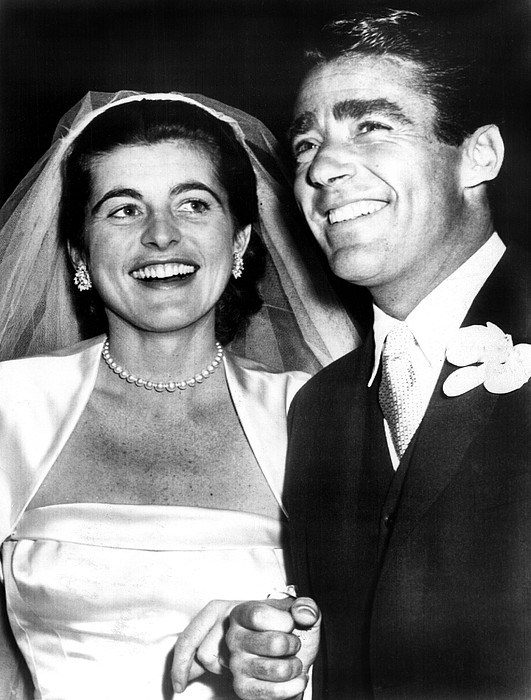 Candid Photograph - Patricia Kennedy Lawford And Husband by Everett