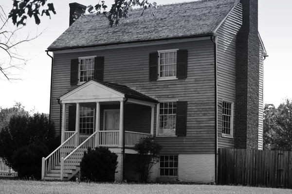 Appomattox Photograph - Peers House Appomattox County Court House Virginia by Teresa Mucha