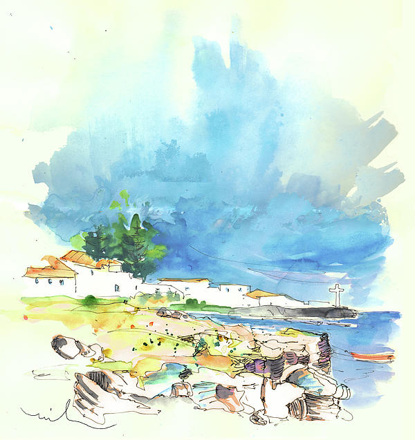 Portugal Painting - Peniche In Portugal 10 by Miki De Goodaboom