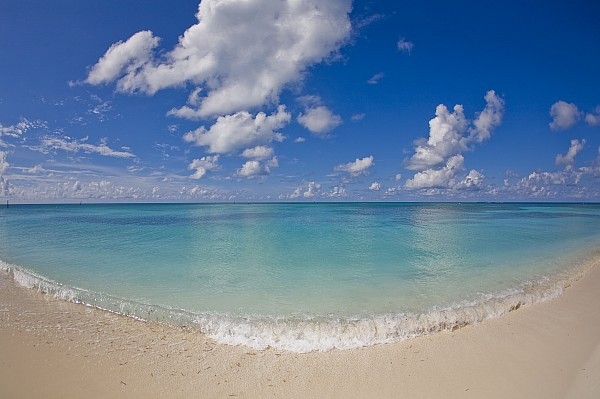 Day Photograph - Perfect Beach Day With Blue Skies by Mike Theiss