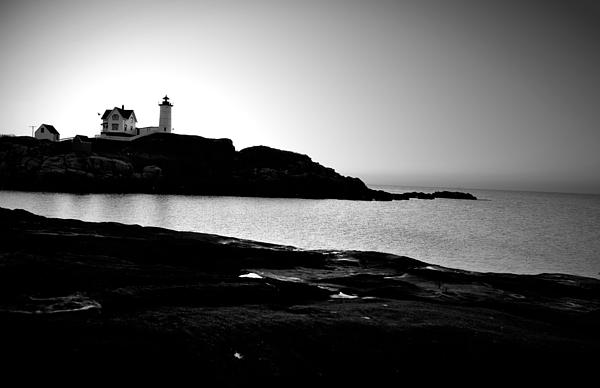 Nubble Lighthouse Photograph - Perfect Calm by Emily Stauring
