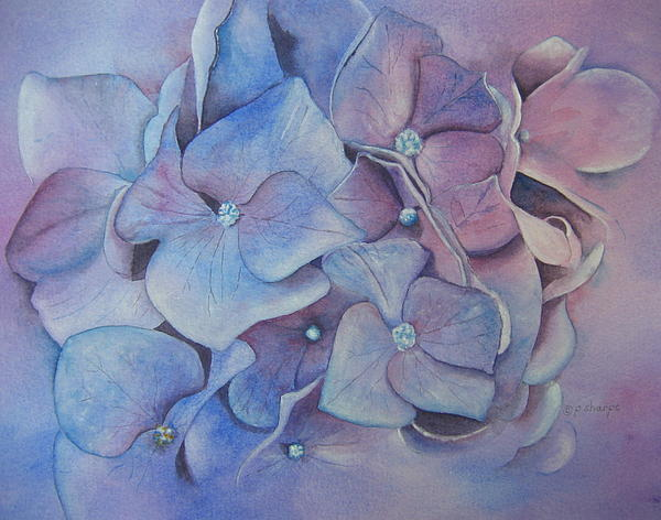 Petals Painting by Patsy Sharpe