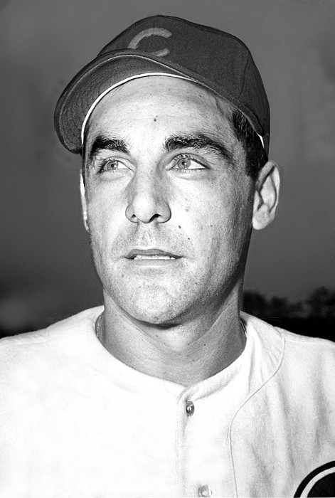 1940s Photograph - Phil Cavarretta, Lefty First Baseman by Everett