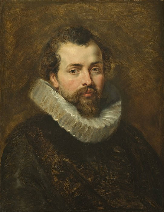 Philippe Painting - Philippe Rubens - The Artists Brother by Peter Paul Rubens