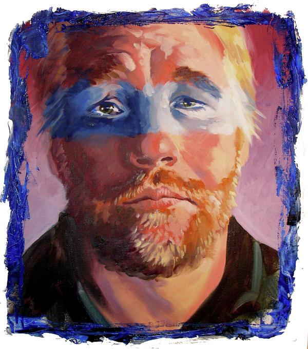 Actors Painting - Phillip Seymour Hoffman by Ken Meyer jr