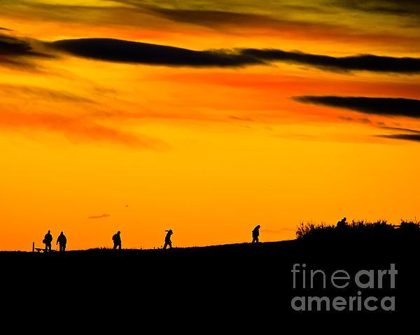 Sunrise Photograph - Photo Club Sunrise by Harry Strharsky