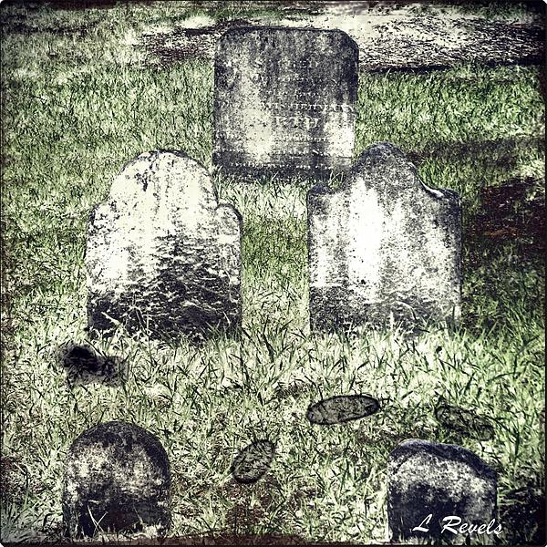 Grave Photograph - Photos In An Attic - Still They Wait by Leslie Revels Andrews