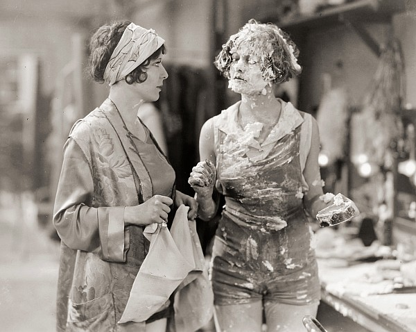 1920s Photograph - Pie In The Face by Granger