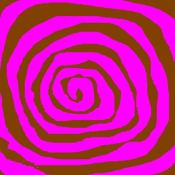 Pink And Brown Digital Art - Pink And Brown Swirls by Jeannie Atwater Jordan Allen