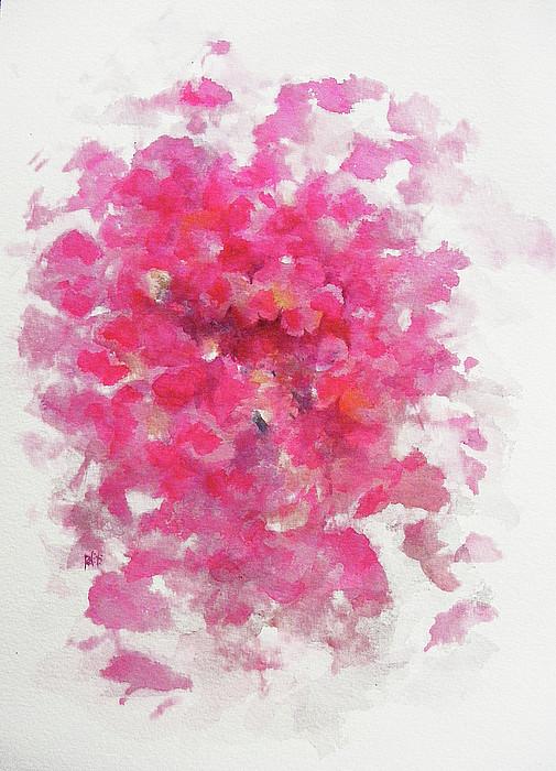 Rose Painting - Pink Rose by Rachel Christine Nowicki