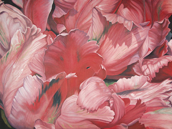 Oil Painting Painting - Pollyflower by - Harlan