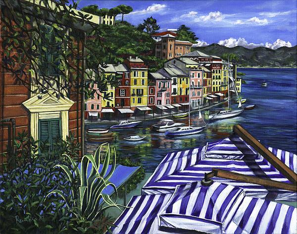 Portofino Painting - Portofino by Lisa Reinhardt