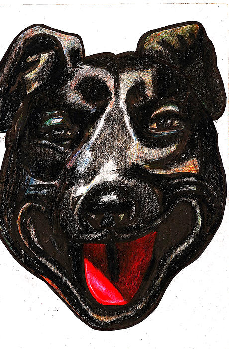 Dog Painting - Portrait Of A Pooch by Al Goldfarb