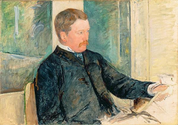 Portrait Painting - Portrait Of Alexander J. Cassatt by Mary Stevenson Cassatt
