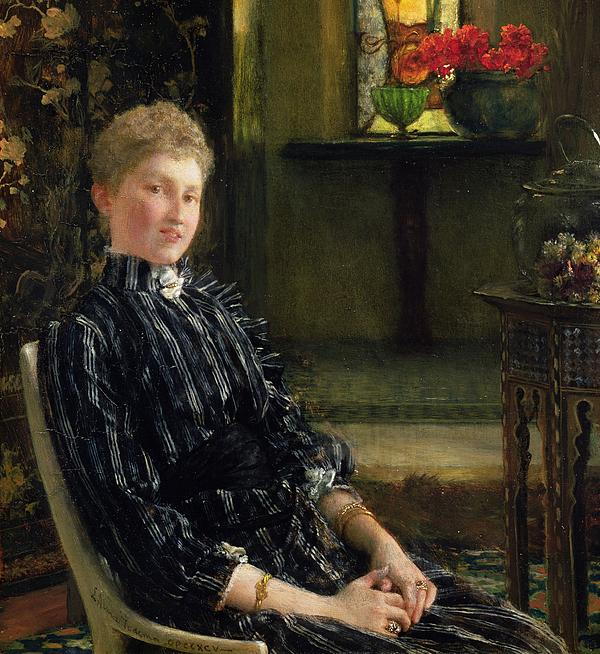 Portrait Of Mrs Ralph Sneyd Painting - Portrait Of Mrs Ralph Sneyd by Sir Lawrence Alma-Tadema