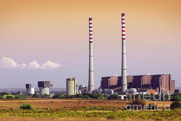 Building Photograph - Power Plant by Carlos Caetano