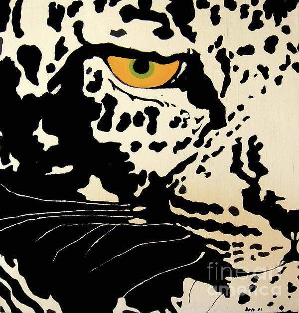 Leopard Painting - Preditor Or Prey by Boyd Art