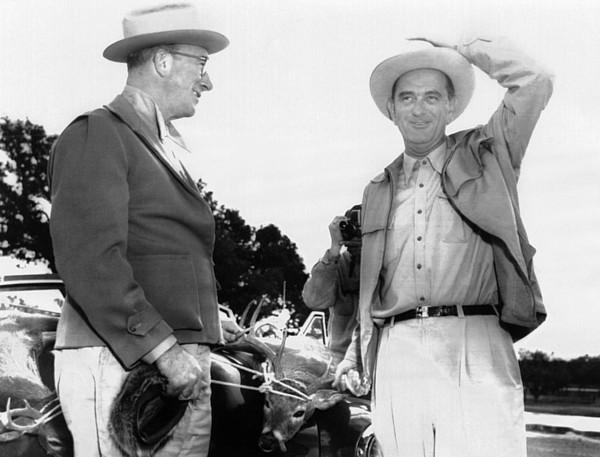 History Photograph - President Lyndon Johnson Entertains by Everett