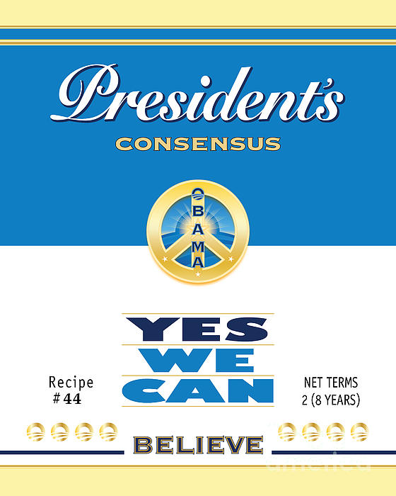 Obama Digital Art - President Obama Yes We Can Soup by NowPower -
