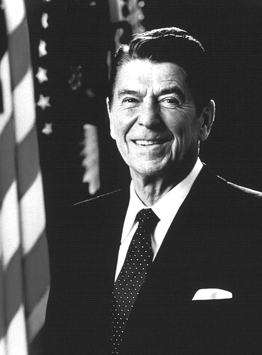 1980s Photograph - President Ronald Reagan, 1981 by Everett