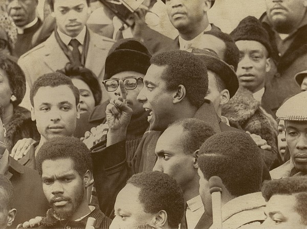 History Photograph - Profile Of Stokely Carmichael Speaking by Everett