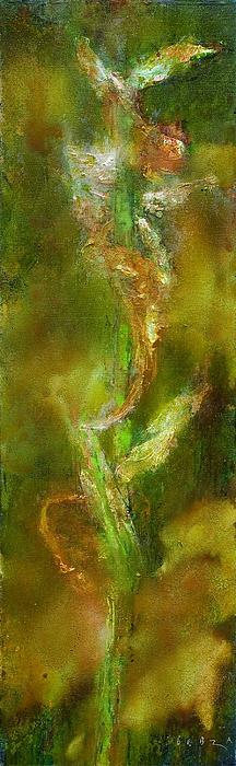 Iris Painting - Proto-iris 12 by Petro Bevza