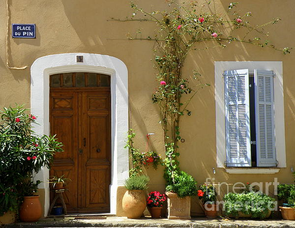 Provence Photograph - Provence Door 3 by Lainie Wrightson
