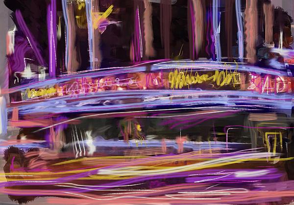 Radio City Music Hall Mixed Media - Radio City by Russell Pierce