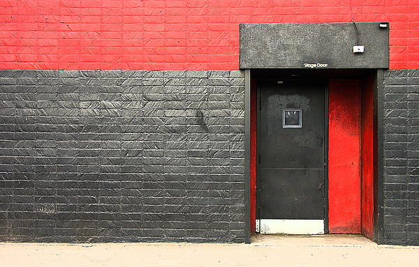 Red Wall Photograph - Red Wall by Viktor Savchenko