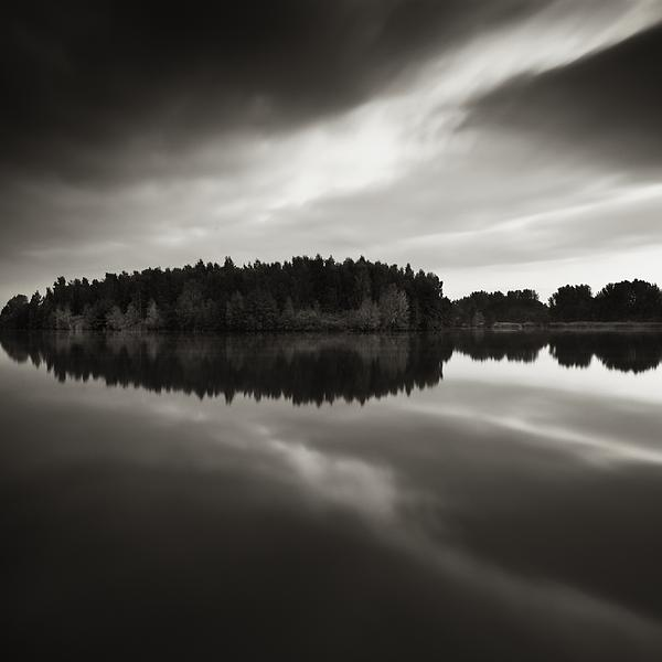 Water Photograph - Reflection by Jaromir Hron