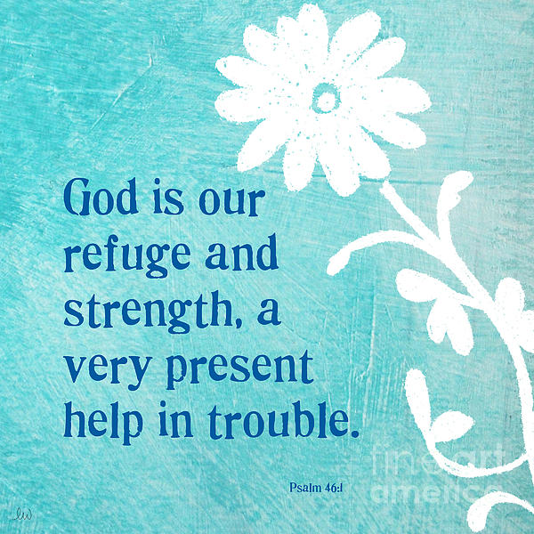 Refuge Mixed Media - Refuge And Strength by Linda Woods