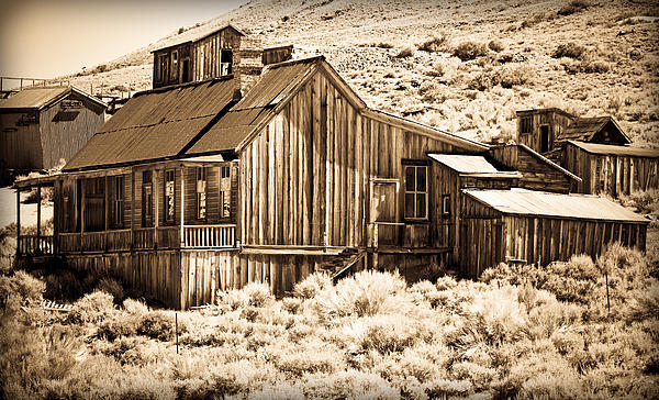 Bodie Photograph - Residence At The Old Mill by Levin Rodriguez