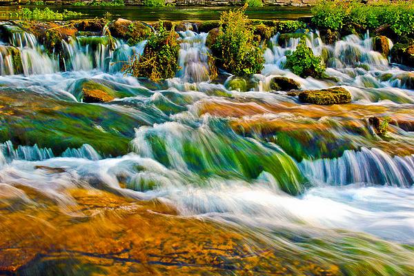 Rapids Photograph - Roaring Rapids by Joshua Dwyer