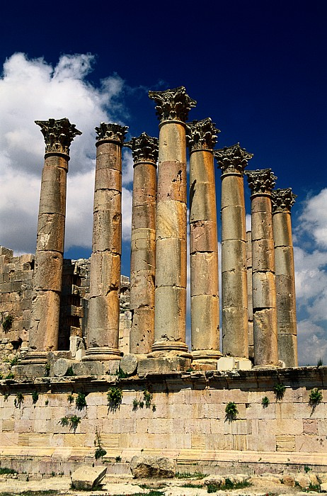 Asia Photograph - Roman Ruins At Jerash, Jordan by Richard Nowitz