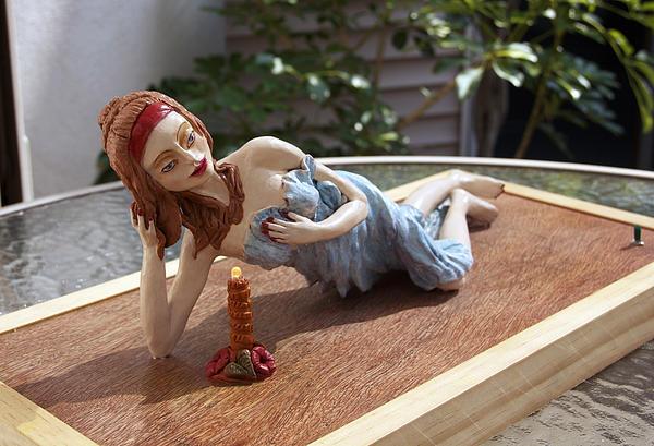 Romantic Sculpture - Romantic 2 by Yelena Rubin