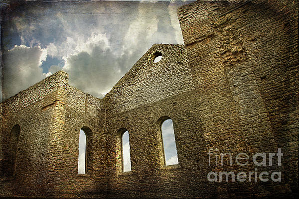 Architecture Photograph - Ruins Of A Church In Ontario by Sandra Cunningham