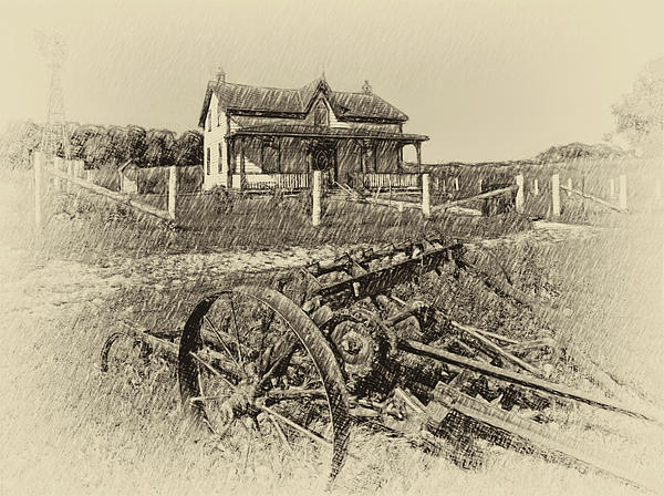 1800's Photograph - Rural Ontario Antique by Steve Harrington