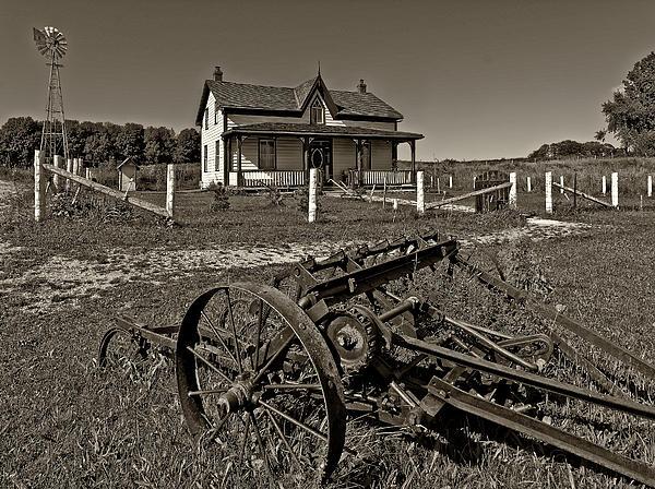 1800's Photograph - Rural Ontario Sepia by Steve Harrington