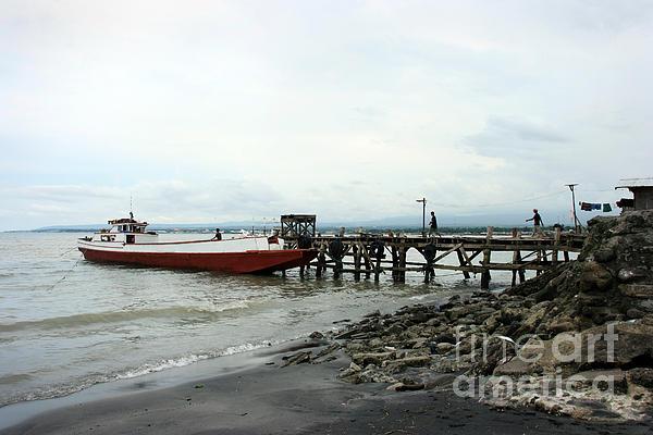 Big Photograph - Rural Wharf by Tony Magdaraog