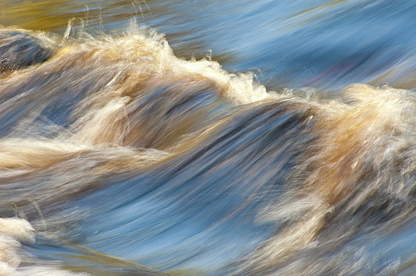 Rapids Photograph - Rushing Waters by Carolyn Marshall
