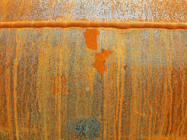 Rust Photograph - Rusty Lines I by Anna Villarreal Garbis