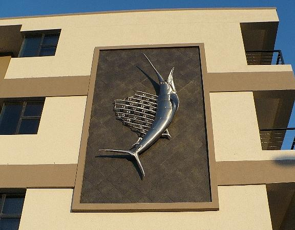 Mural Sculpture - Sailfish by Jaques