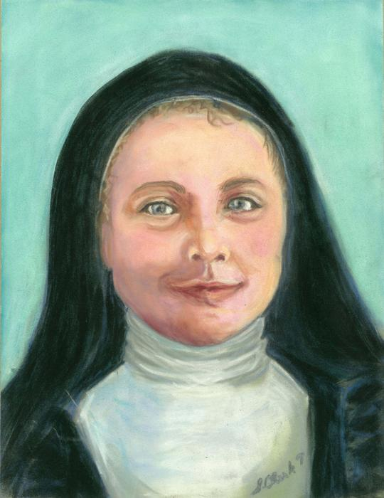 St. Therese Painting - Saint Therese Of Lisieux by Susan  Clark